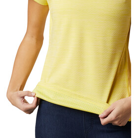 Columbia Zero Rules koszulka Kobiety, buttercup heather